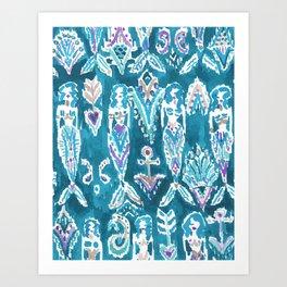 MERMAID FANTASEA Art Print