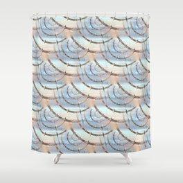 Behind pattern Shower Curtain