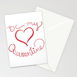Be My Quarantine Valentine Stationery Cards