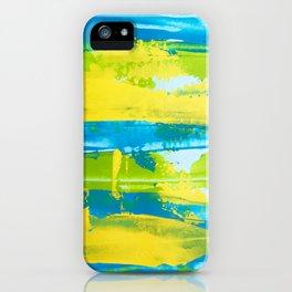 Paint (cool) iPhone Case