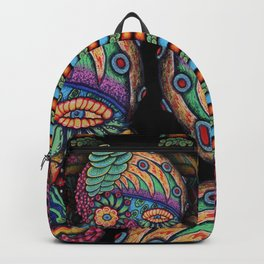 Lunch Wagon Skull Backpack