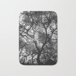Dramatic London Tree Silhouette Bath Mat