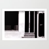 bar Art Prints featuring bar by tatlin@home