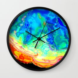 A different kind of algae Wall Clock