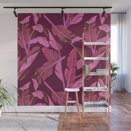 Tropical '17 - Ajaja [Banana Leaves] Wall Mural