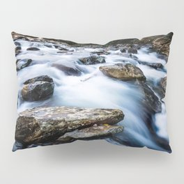 Take Me to the River - Rushing Rapids in the Great Smoky Mountains Pillow Sham