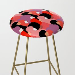 Together Girl Power - Pattern #girlpower Bar Stool