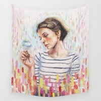 law Wall Tapestries featuring I Know The Law by Ryan Sheldon Art