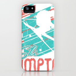 ski jumping ski jumping hill winter snow ski iPhone Case