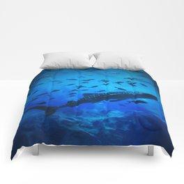 A Whale of a Teacher Comforters