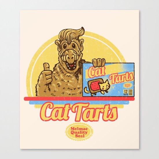 Cat Tarts Canvas Print