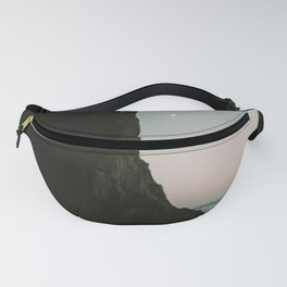 Oregon Coast Dark Ocean Fanny Pack