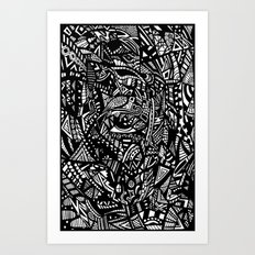 The EYE Art Print