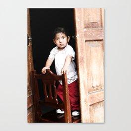 Mexican Boy Canvas Print