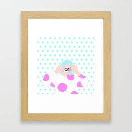 TAKE A PIC Framed Art Print