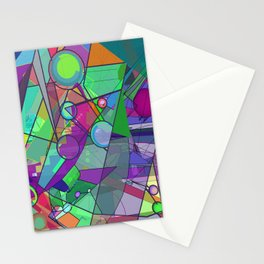 Searching for a New Angle Stationery Cards
