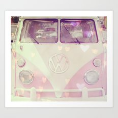 Punch Buggy Love Art Print