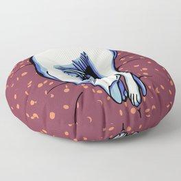 Sphynx Kitty Sleeping Floor Pillow