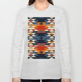 Southwestern Diamonds Long Sleeve T-shirt
