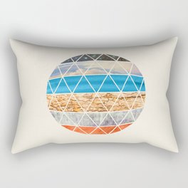 Eco Geodesic  Rectangular Pillow