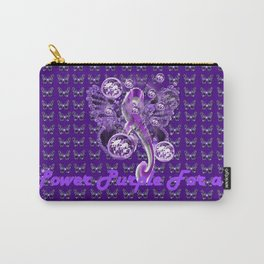 Power Purple For a Cure - Pancreatic Cancer Carry-All Pouch