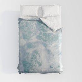 SEA - FOAM - PHOTOGRAPHY Comforters