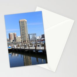 Baltimore's Inner Harbor and World Trade Center Stationery Cards