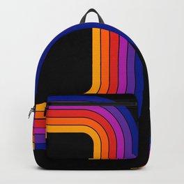 Black Rainbow Tunnel Backpack