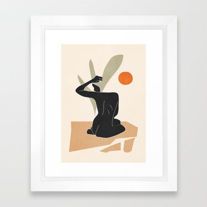 Nude Framed Art Print