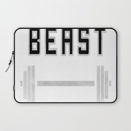 I am a beast at the gym Laptop Sleeve