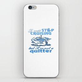 Cruise Lovers iPhone Skin