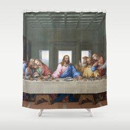 The Last Supper by Leonardo da Vinci Shower Curtain