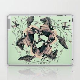 Horses and birds Laptop & iPad Skin