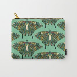 swallowtail butterfly emerald Carry-All Pouch