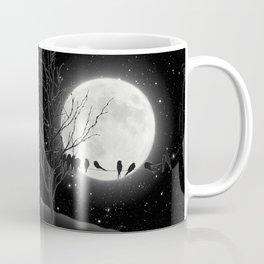 Moon Bath, Birds On A Wire Coffee Mug