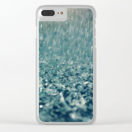 Oh for the love of Rain Clear iPhone Case
