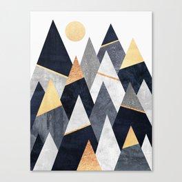 Fancy Mountains Canvas Print