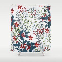 christmas-1 Shower Curtain