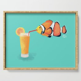 The Clown Fish Drinks Serving Tray