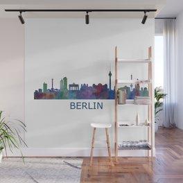 Berlin City Skyline HQ Wall Mural