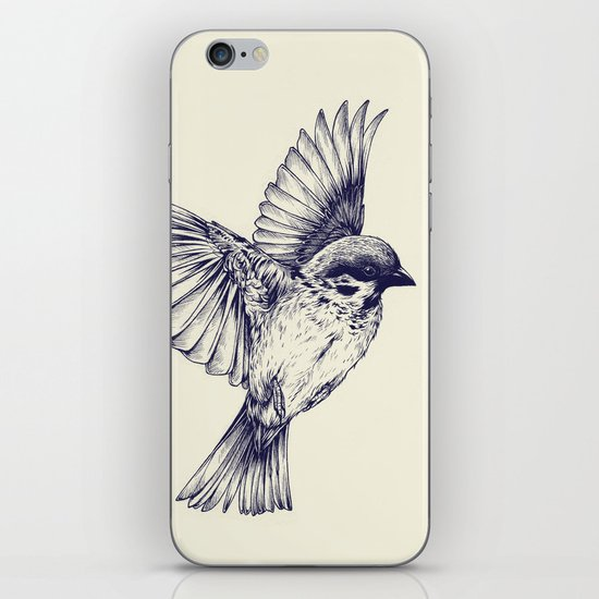 lost bird iPhone & iPod Skin
