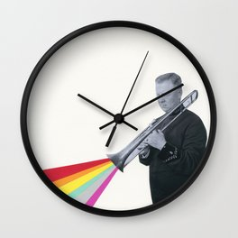 The Colour of Music Wall Clock