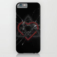 Celtic Knotwork Valentine Heart Broken Glass Texture iPhone 6s Slim Case