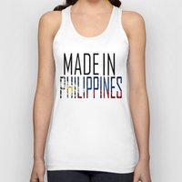 philippines Tank Tops featuring Made In Philippines by VirgoSpice