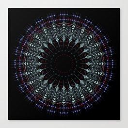 Futuristic Mandala art Canvas Print