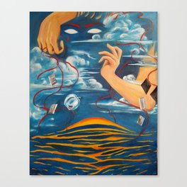 Carbon Canvas Print