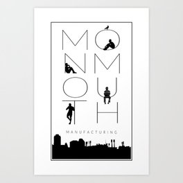 Monmouth Manufacturing (TRC) Art Print