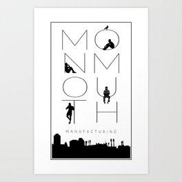 Monmouth Manufacturing (TRC) Art Print