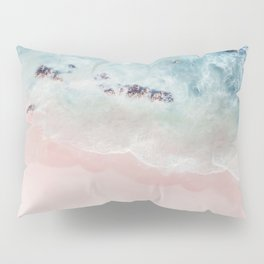 Ocean Pink Blush Pillow Sham
