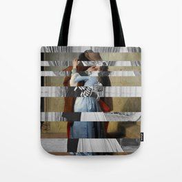 Hayez's The Kiss & Clark Gable and Vivien Leigh Tote Bag